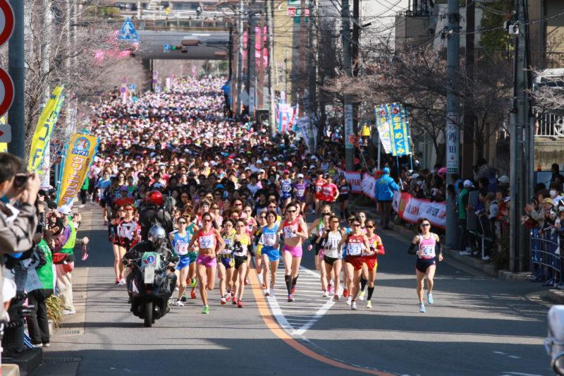 ロンドン五輪の最終選考会を兼ねた2012年3月11日の第1回名古屋ウィメンズマラソン