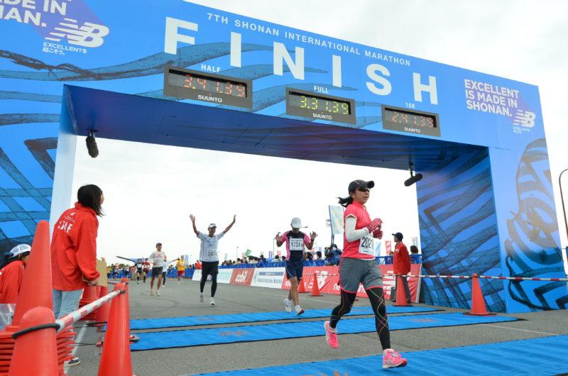 湘南国際マラソンを3:29:51(ネットタイム)のサブ3.5でゴール