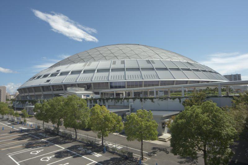 名古屋ウィメンズマラソンのスタート&ゴール地点となるナゴヤドーム