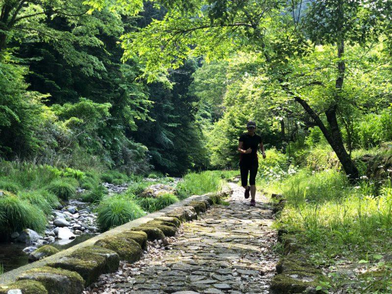 秋川渓谷で暑さをしのいでトレイルラン