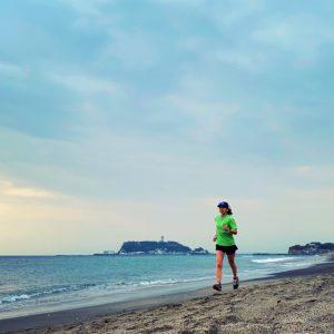 七里ガ浜まで10kmのJOG