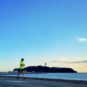 江の島へ15kmビルドアップ