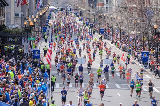 ボストンマラソン(東京マラソン公式サイトより)
