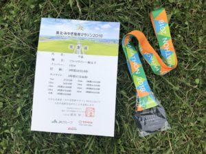 2018年東北・みやぎ復興マラソン