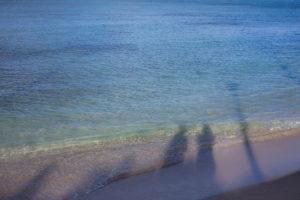 ワイキキビーチで