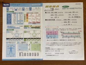 2012年呼気ガス分析装置で全身持久力測定