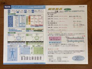 2013年呼気ガス分析装置で全身持久力測定