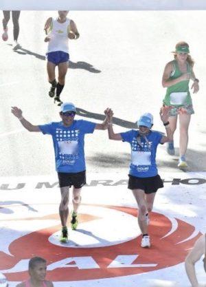 ホノルルマラソンゴール2