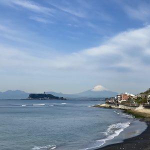 富士山くっきり