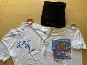 三浦国際市民マラソン参加賞Tシャツ表