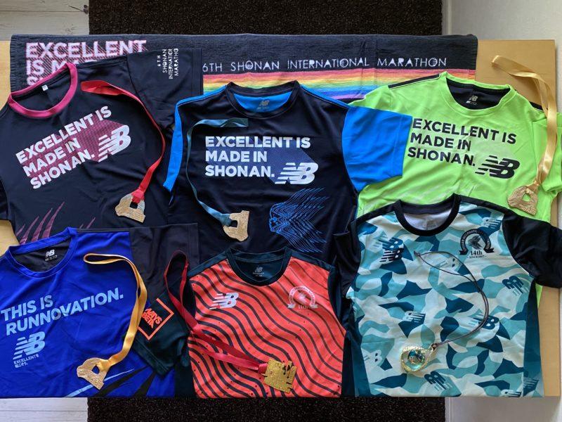 湘南国際マラソン参加賞オリジナルTシャツ表
