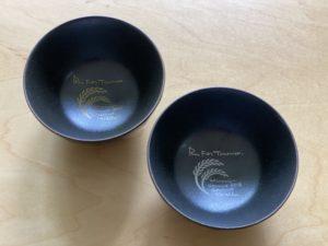 南魚沼グルメマラソン参加賞のお茶碗