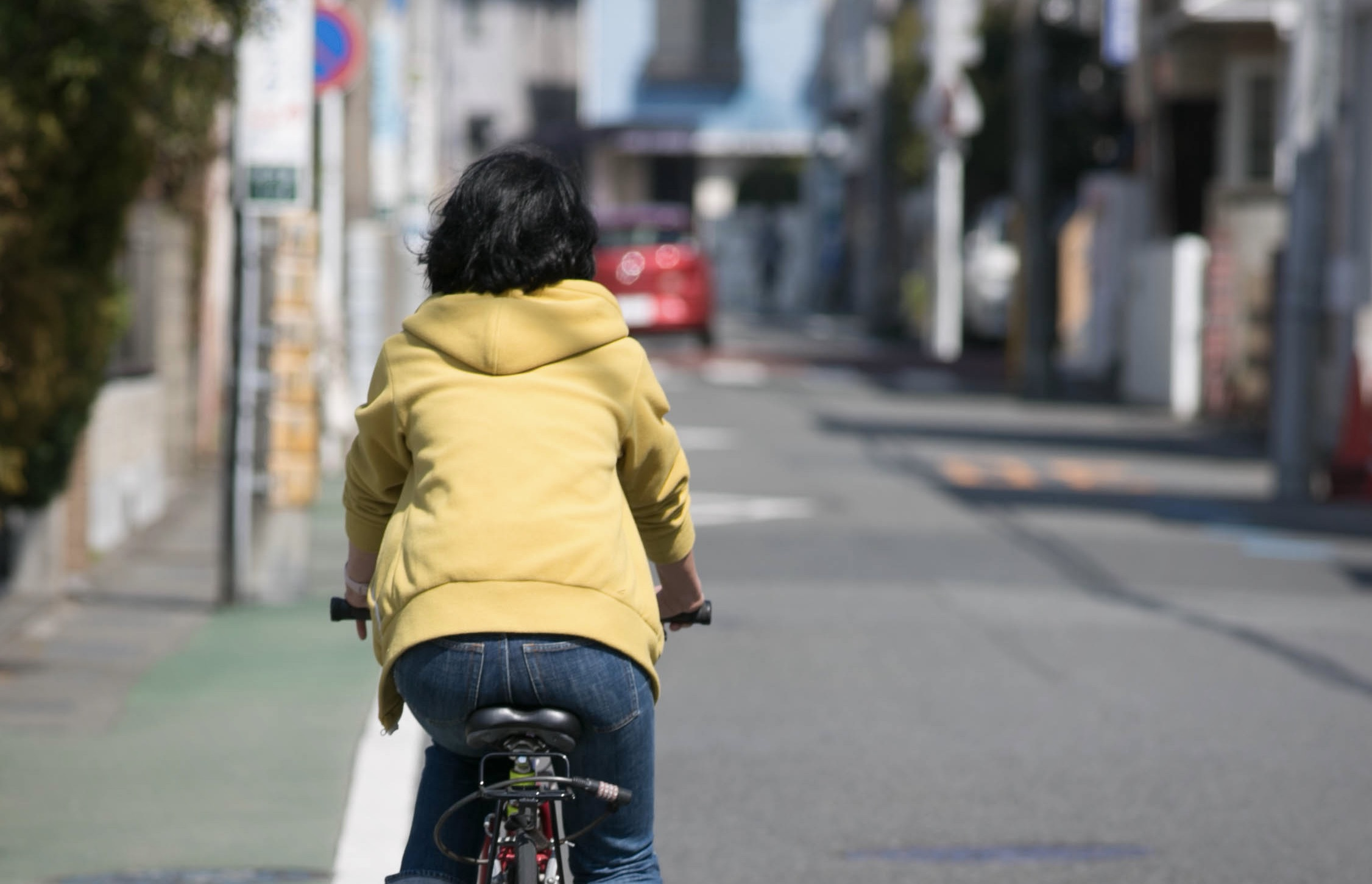 クロストレーニングのサイクリング