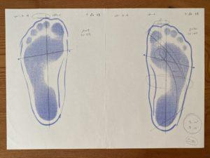足首の柔らかさ測定2011年