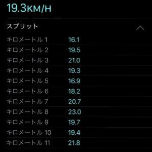 【クロストレーニング:サイクリング30分】