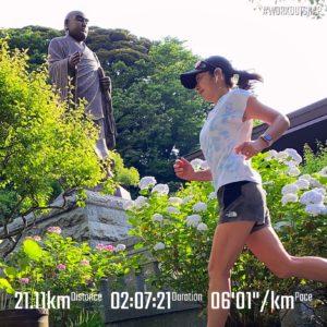 【マラソンシミュレーション(ローリングヒルコース)】妙本寺