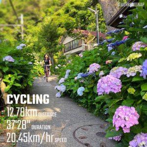 【クロストレーニング:サイクリング37分】御霊神社
