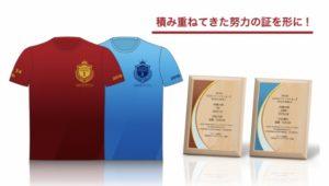 「第16回全日本マラソンランキング」の記念グッズ