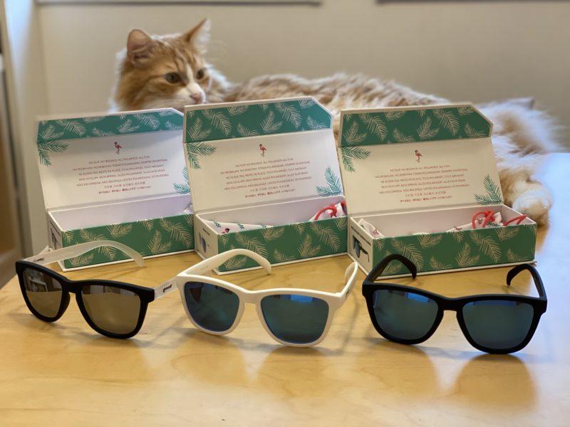 goodrのサングラス3種