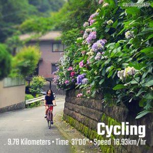 【クロストレーニング:サイクリング31分】二階堂