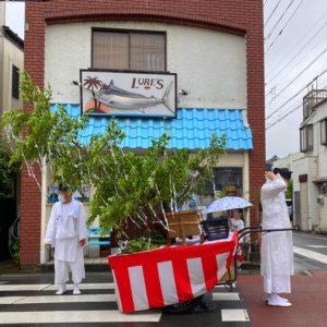 五所神社の例大祭