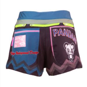RUN PANDA!  Women's / 7 Pockets PantsはUVカット(UPF40-50+/メイン)。[パンダーニ]公式サイトより