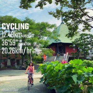 【クロストレーニング:サイクリング36分】本覚寺