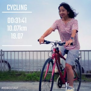 【クロストレーニング:サイクリング31分】由比ヶ浜
