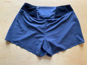 OnのRunning Shorts (2018モデル)のバックポケットにはファスナーつき