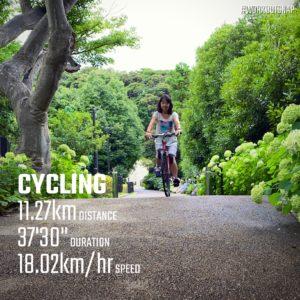【クロストレーニング:サイクリング37分】鎌倉文化交流会館