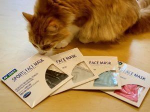 ヨネックスのマスクパッケージ