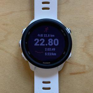 """【5'22""""→5'26""""→4'59""""で16.2km(ビルドアップ) 】ガーミン時計"""