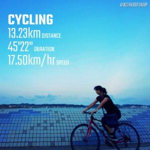【クロストレーニング:サイクリング45分】坂ノ下