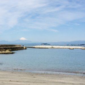 葉山町堀内の海