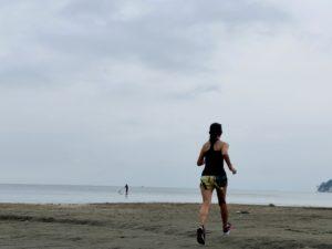 7ポケット ジョギングパンツで30km走2