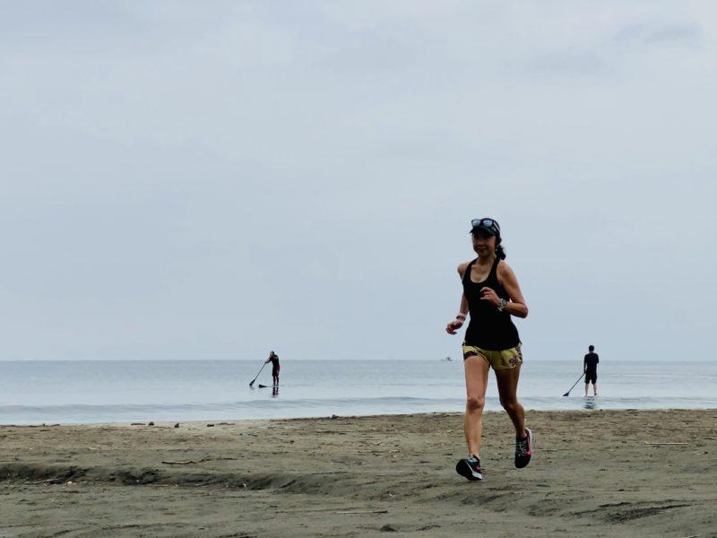 7ポケット ジョギングパンツで30km走1