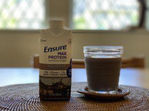 ミルクチョコレートのプロテイン