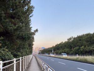 走りながら富士山撮影