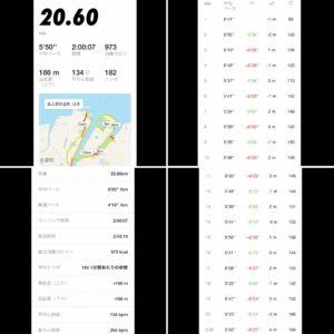 Nikeアプリの記録