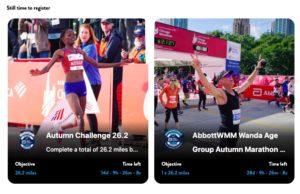 AbbottWMM Global Run Clubのチャレンジ1