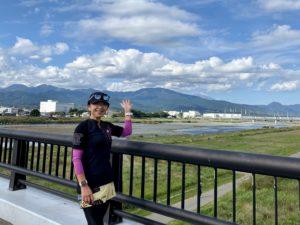 酒匂川から見る富士山