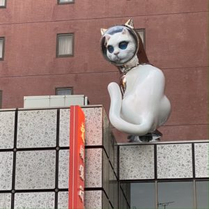 #ヤノベケンジ さんの「見返り猫」