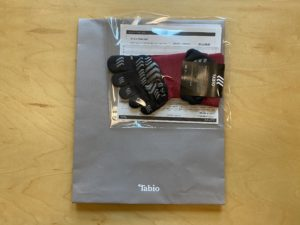 TABIOの5本指ランニングソックス到着