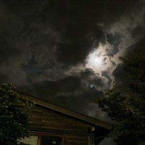 中秋の名月翌日の満月