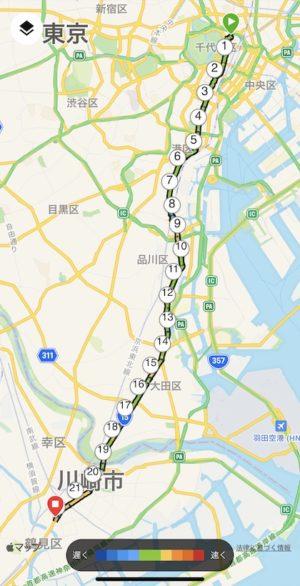 箱根駅伝1区ルート