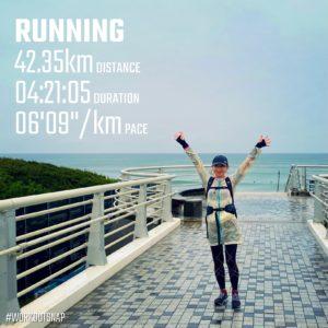 """【シカゴマラソン 42.2K (6'10"""") 】浜須賀"""