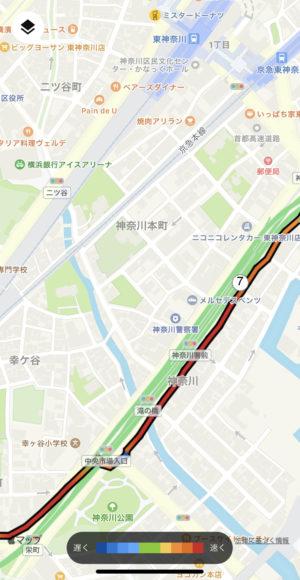 東神奈川あたり