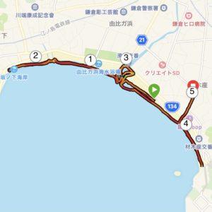 "【5km-フレックスデイ(6'34"")】ビーチラン"