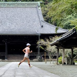 "【5km-テンポラン(5'23"")】妙本寺2"