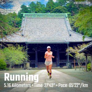 "【5km-テンポラン(5'23"")】妙本寺1"